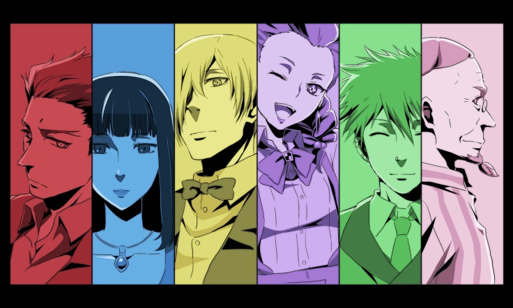 Death Parade Characters